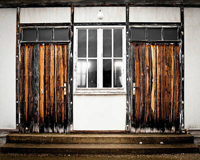 Photograph - Doors Of Dachau by Steven Myers