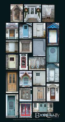 Photograph - Doors Of Door County Poster by Tim Nyberg