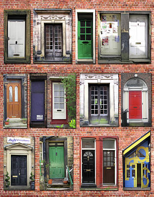 Doors Of England I Art Print