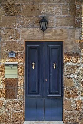 Maltese Photograph - Doors Of Gozo No 4 by Chris Fletcher