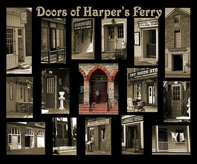 Photograph - Doors Of Harper's Ferry by Judi Quelland