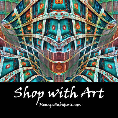 Digital Art - Doors Of Perception - Shop With Art by Menega Sabidussi
