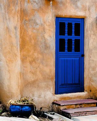 Doors Of Taos Art Print