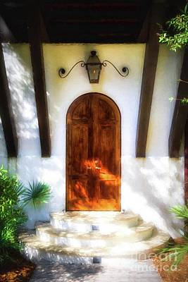 Photograph - Doors Of The Florida Panhandle # 2 by Mel Steinhauer