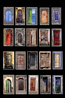Doors Of The World Art Print by Rianna Stackhouse