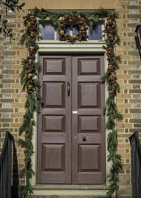 Floral Photograph - Doors Of Williamsburg 67 by Teresa Mucha
