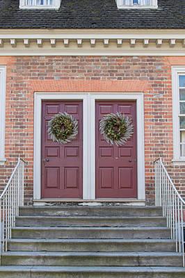Flower Photograph - Doors Of Williamsburg 88 by Teresa Mucha