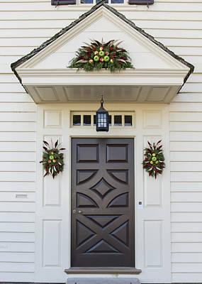 Okra Photograph - Doors Of Williamsburg 94 by Teresa Mucha