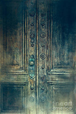 Photograph - Doors Old Beautiful Vintage by Ella Kaye Dickey