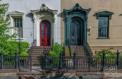 Photograph - Doors On Bull Street by Dale Powell