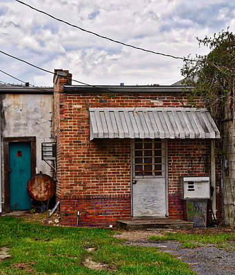 Photograph - Doors On The Alley by Linda Brown