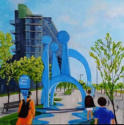 Painting - Doors Open Toronto, Doors Open Canada by Diane Arlitt