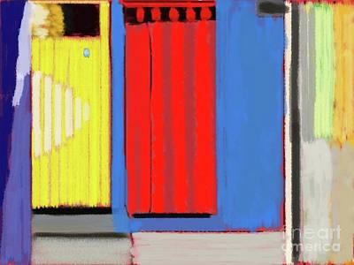 Painting - Doors by Roberto Perez