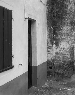 Doorway - Sao Miguel - Azores Art Print by Henry Krauzyk