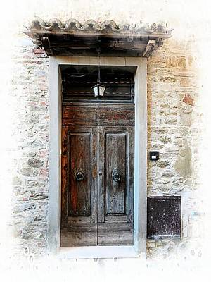 Photograph - Doorway 1 Panicale by Dorothy Berry-Lound