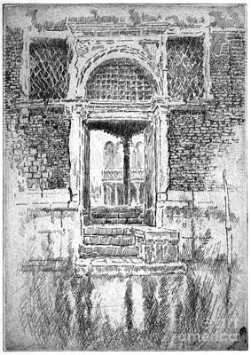 Drawing - Doorway, 1885 by Granger
