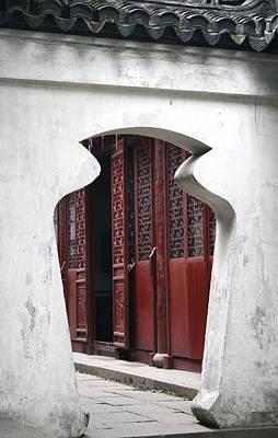 Doorway Art Print by Erika Lesnjak-Wenzel