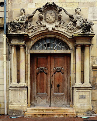 Photograph - Doorway In Dijon, France by Carla Parris