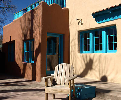 Photograph - Doorway In New Mexico by Mary Capriole