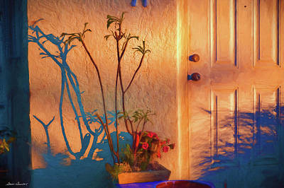 Photograph - Doorway In The Hot Summer Sun. by Glenn Gemmell