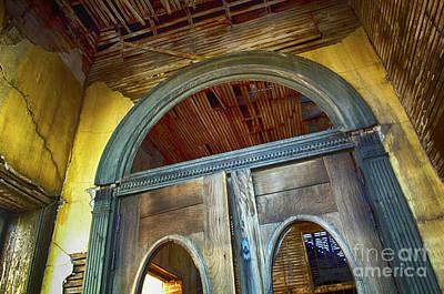 Abandonded Photograph - Doorway Jerome Arizona by Bob Christopher