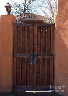 Photograph - Doorway New Mexico by Mary Capriole