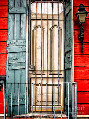 Photograph - Doorway Nola- Marigny by Kathleen K Parker