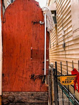 Photograph - Doorway-nola-marigny-mop by Kathleen K Parker