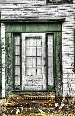 Photograph - Doorway Of Past by Richard Bean