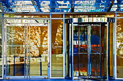 Photograph - Doorway Reflections by Bill Jonscher