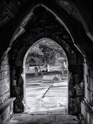 Thomas Becket Photograph - Doorway - Saint Thomas The Apostle - Heptonstall by Philip Openshaw