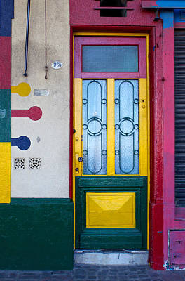 Doors Of San Telmo, Argentina Art Print