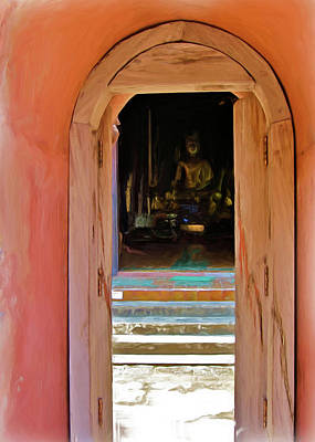 Painting - Doorway To Enlightenment by Bates Clark