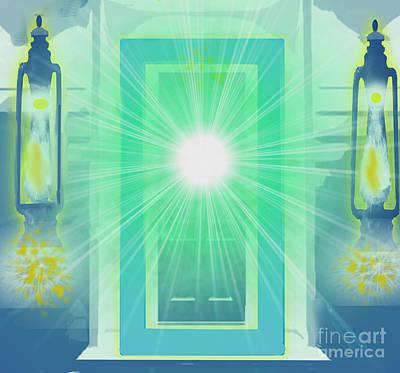 Painting - Doorway To Heaven by Belinda Threeths