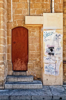 Photograph - Doorway To Nicosia by Makk Black