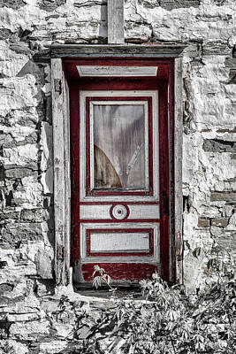 Photograph - Doorway To The Past by Eunice Gibb