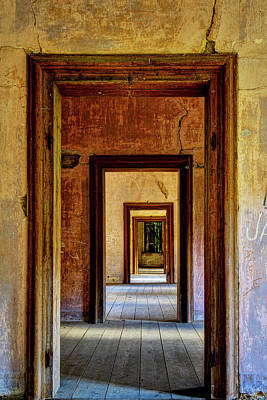 Doorways Art Print by Ivan Slosar