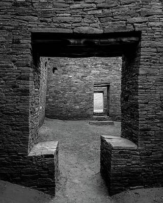 Chaco Canyon Photograph - Doorways by Joseph Smith