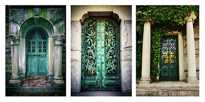 Photograph - Doorways Of Woodlawn by Jessica Jenney
