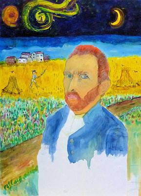 Painting - Doppelganger  by Rojo Chispas