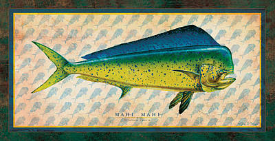 Dorado Art Print by Jon Q Wright