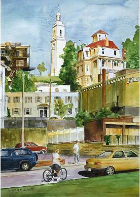 South Boston Painting - Dorchester Heights by Dan McCole
