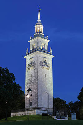 Art Print featuring the photograph Dorchester Heights Monument by Juergen Roth