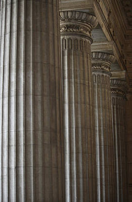 Photograph - Doric Columns by Mary-Lee Sanders