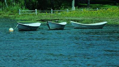 Photograph - Dories by John Wartman