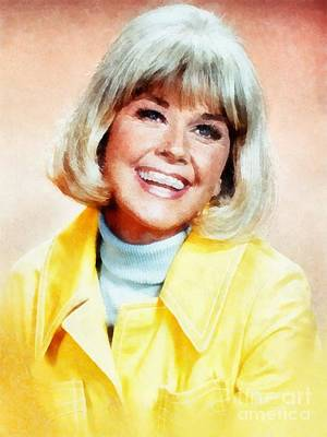 Musicians Royalty Free Images - Doris Day by John Springfield Royalty-Free Image by John Springfield
