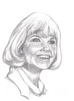 Doris Day  Print by Carol Wisniewski