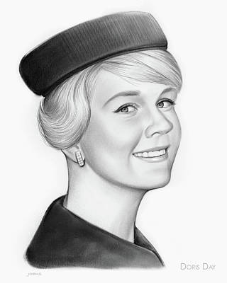 Doris Day Art Print by Greg Joens
