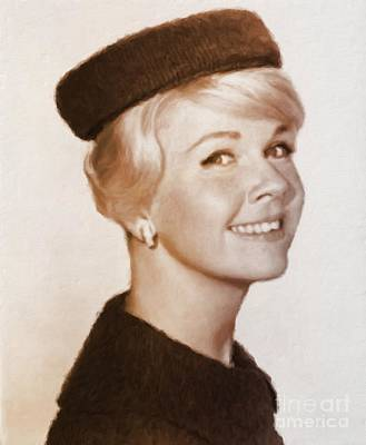 Musicians Royalty Free Images - Doris Day, Hollywood Legend Royalty-Free Image by Esoterica Art Agency