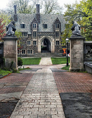 Photograph - Dorm Building At Princeton University by Dave Mills
